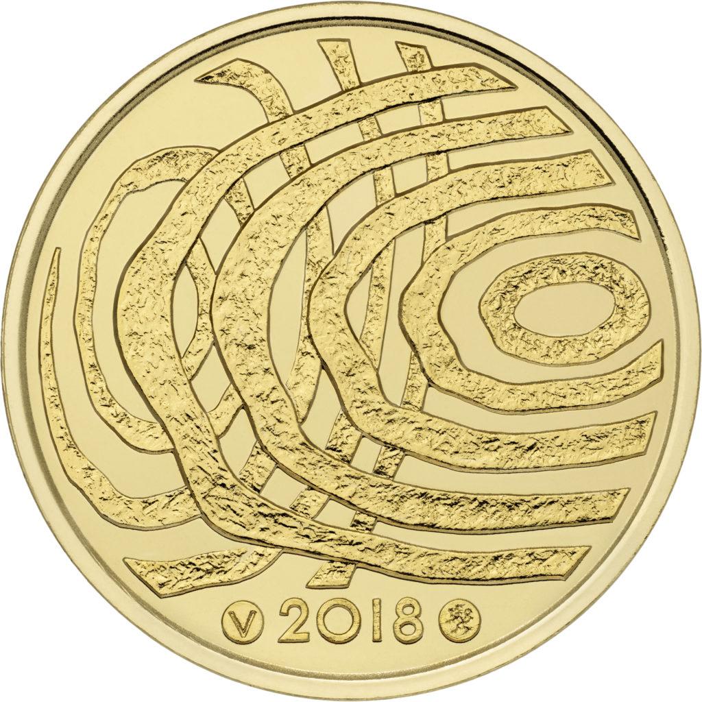 100€ or de la Finlande 2018 - la Finlande dans 100 ans
