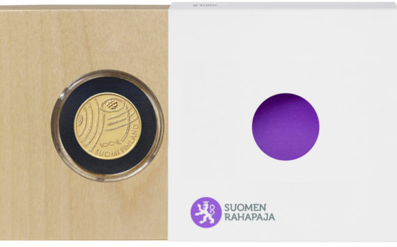 FINLAND 2018 €100 gold coin – Finland in 100 Years