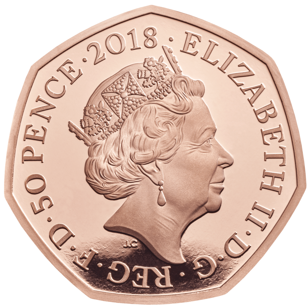 The Raymond BRIGG's SNOWMAN on a 2018 Royal Mint coin