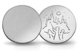 "2018 HARRY POTTER ""MIRROR COIN"" struck by dutch Mint"