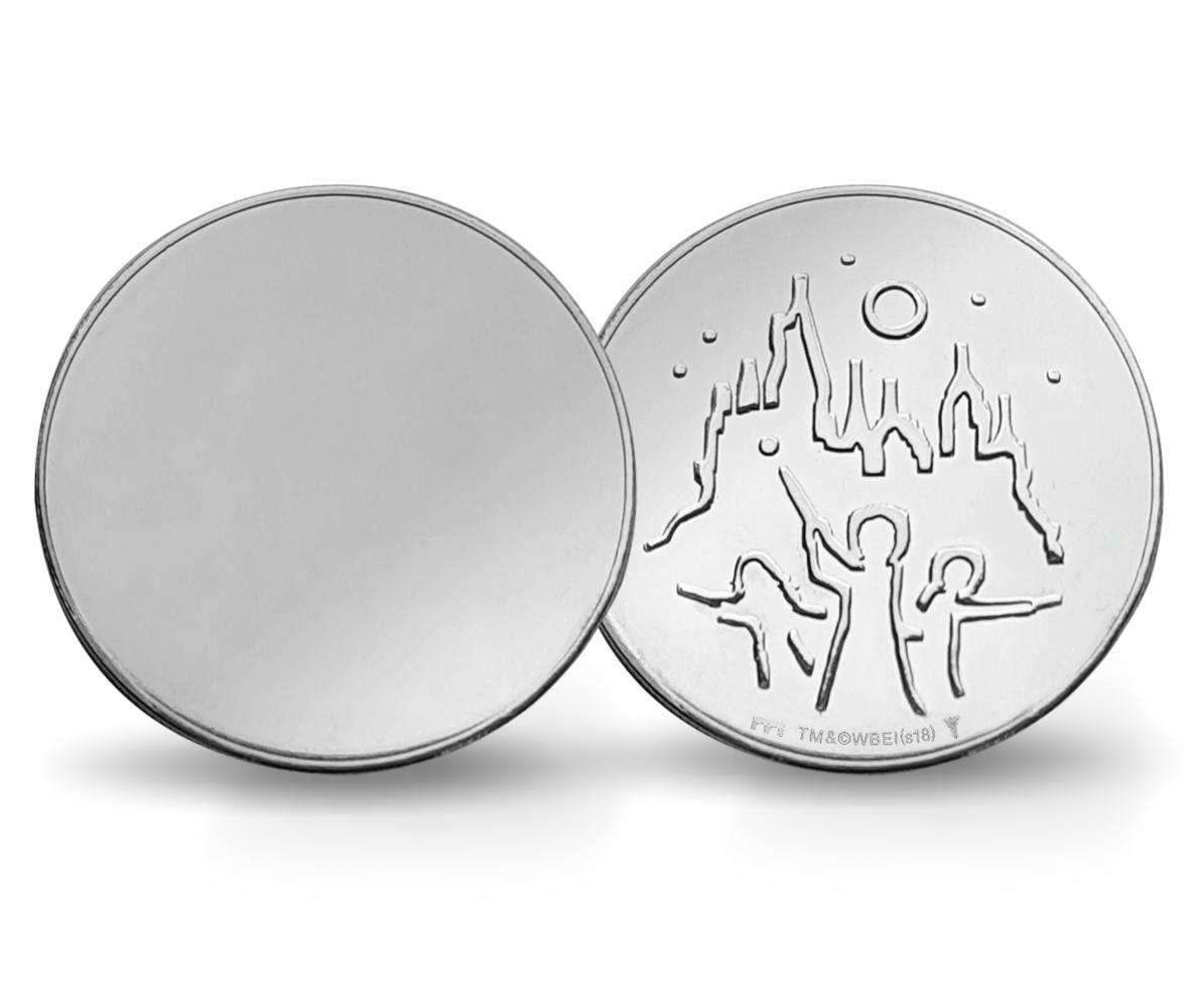 Médaille HARRY POTTER «pièce miroir» frappée par la KNM