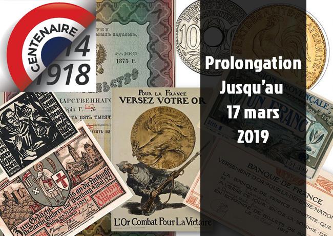 14-18, La monnaie ou le troisième front – Exposition Monnaie de Paris 2018