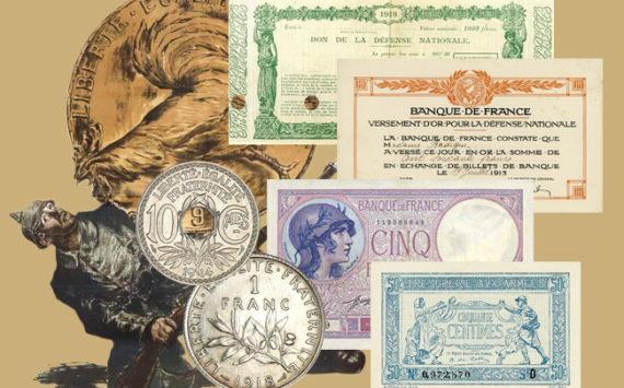 Le Franc dans la tourmente – L'économie de la France de 1914 à l'Armistice en 1918