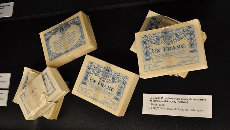 14-18, La monnaie ou le troisième front - Exposition Monnaie de Paris