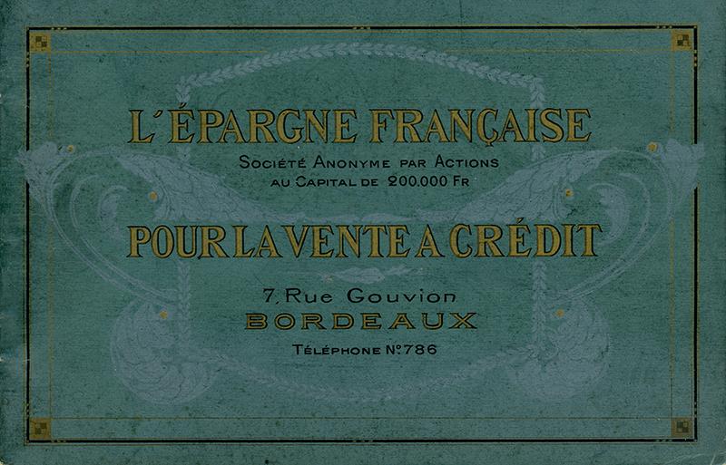 Aquitaine -Les bons de l'Epargne Française, Union commerciale de Bordeaux - Catalogue et cotation
