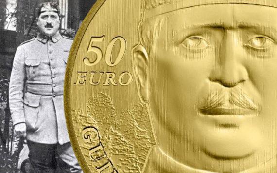 Pièces de 10€ et 50€ 1/4 OZ Or  Guillaume Apollinaire – Monnaie de Paris 2018