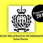 Programme Numismatique de Saint-Marin 2019