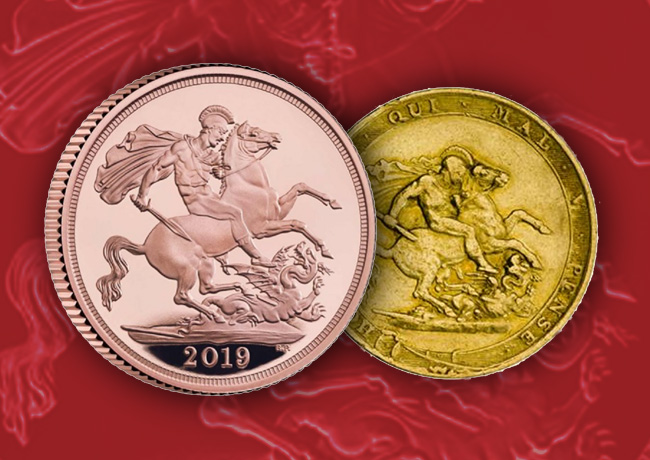 Royal Mint 2019 gold Sovereign Collection