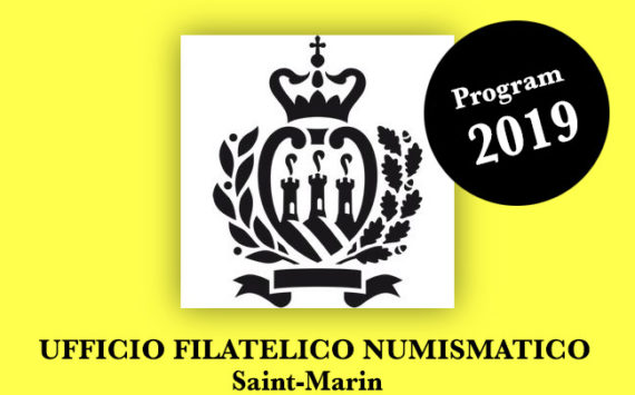 San Marino Numismatic Program 2019