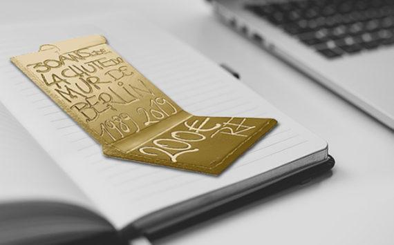 Collection pièces 30ème anniversaire de la chute de Berlin – programme Monnaie de Paris 2019