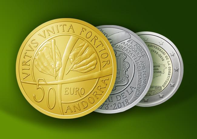 Résumé du Programme numismatique de la principauté d'Andorre 2018