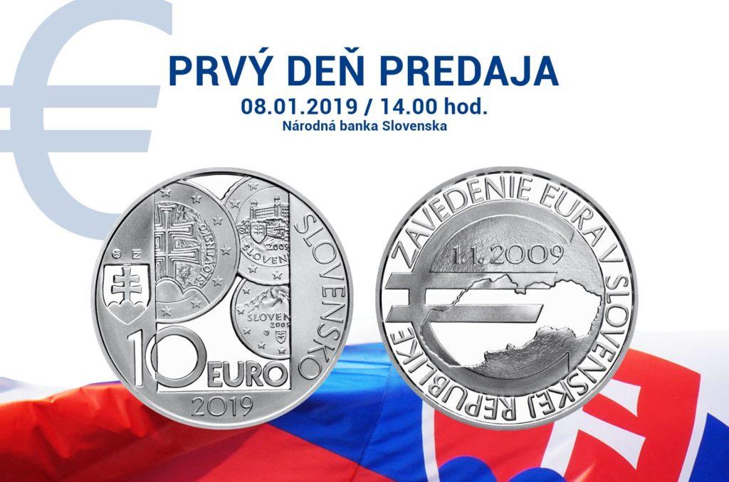 National Hero STEFANIK, heart of 2019 slovakian numismatic program
