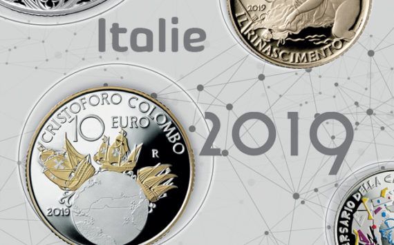 2019 italian numismatic Program: VESPA TIME!