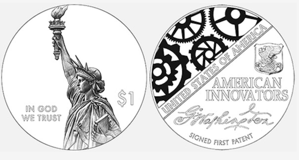 New 1 dollar commemorative coins series start 2018, december 14th