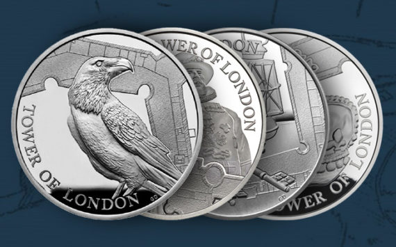 Commemorative coins series, The Tower of London – Royal Mint 2019