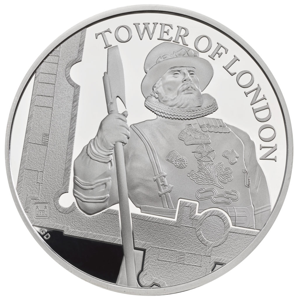 Commemorative coins series, The Tower of London - Royal Mint 2019