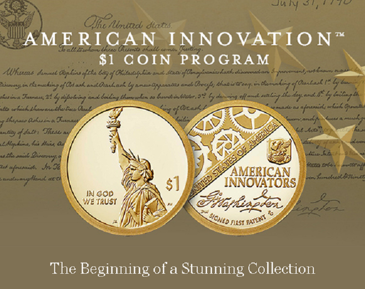 New 1 dollar commemorative coins series start 2018, december 14th