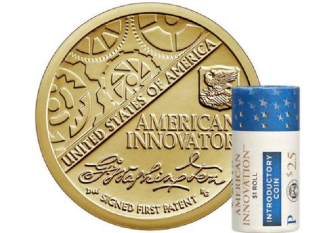 Nouvelles pièces commémoratives 1 dollar USA, émises le 14 décembre 2018