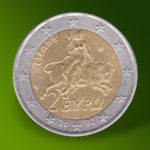 A Greek 2 euro coin from 2002 to 80,000 euros!