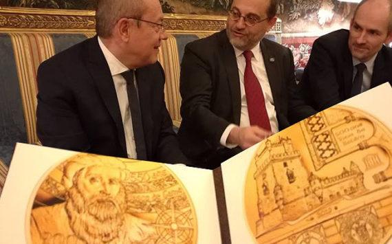 Pièces 550è anniversaire de la naissance du navigateur Vasco de Gama et 500è anniversaire de la tour de Belem 2019