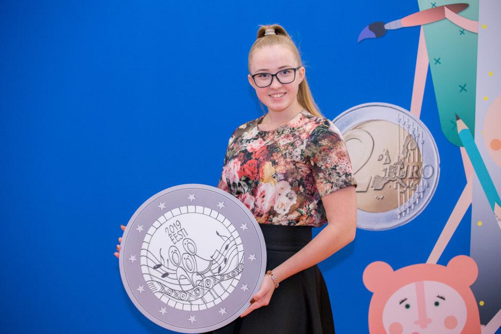 ESTONIA Hansa town Viljandi 8 € Euro SILVER COLLECTOR COIN 2019