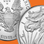 2019 silver one once bullion coin of US MINT