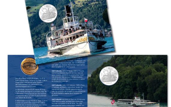 Trois nouvelles pièces commémoratives suisses 2019