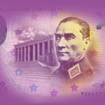 Zero euro ATATÜRK 2019 - zero euro banknote - Euro Souvenir Banknote