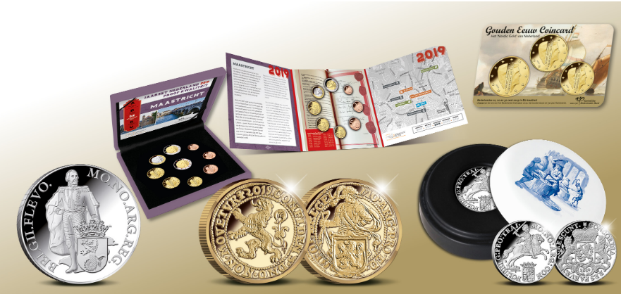 2019 dutch KNM numismatic program
