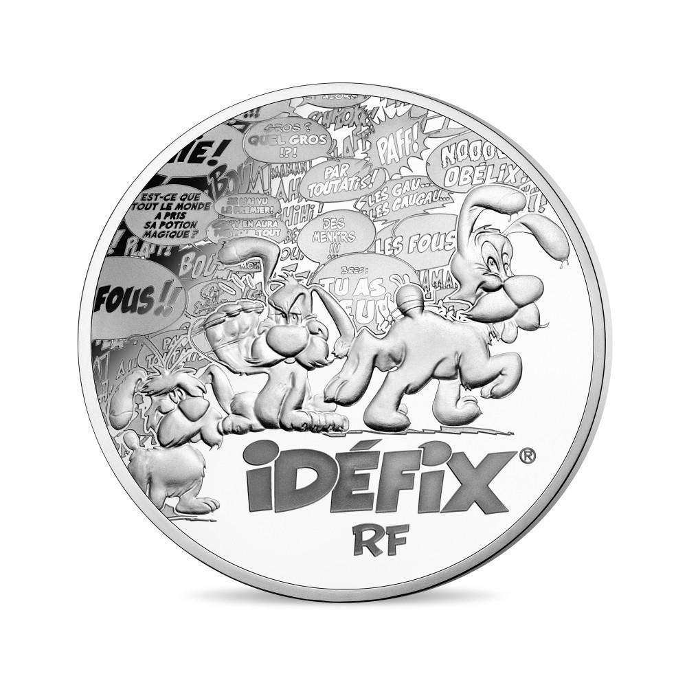 Série de 3 pièces en or et argent Astérix – 60e anniversaire 2019 Monnaie de Paris