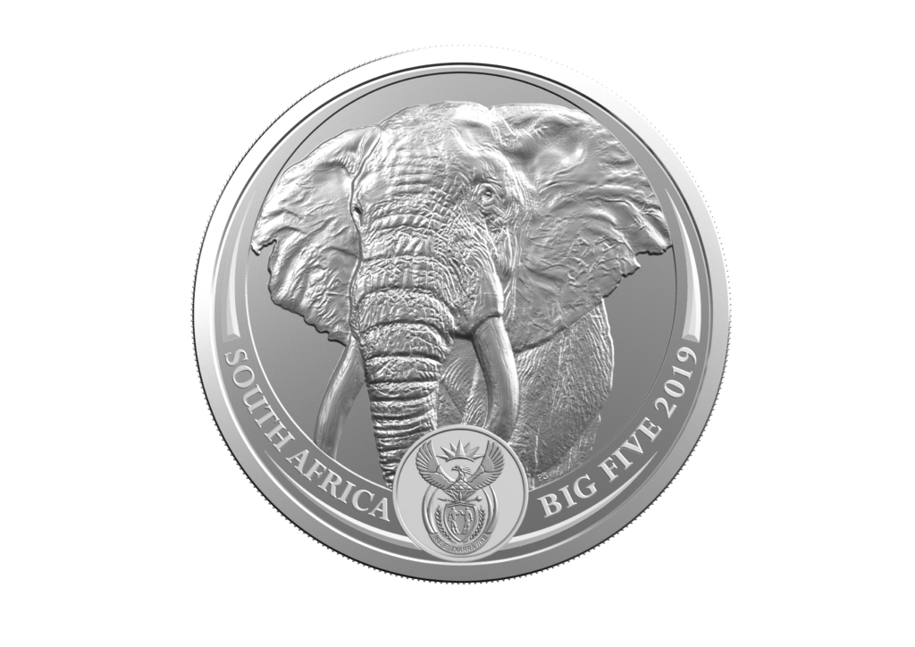 2019 South Africa minting program: Big five on coins!