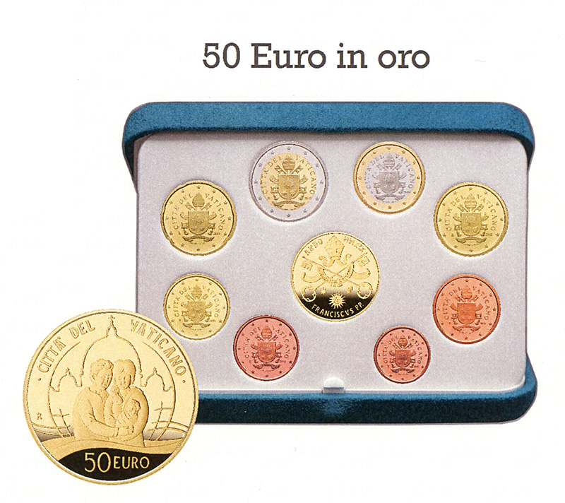 2019 VATICAN numismatic program