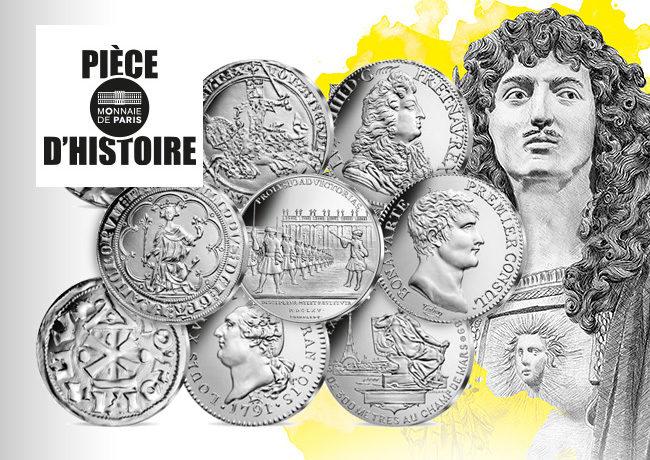 Collection Pièces d'Histoire, une série de 18 pièces, 18 événements historiques avec Stéphane Bern