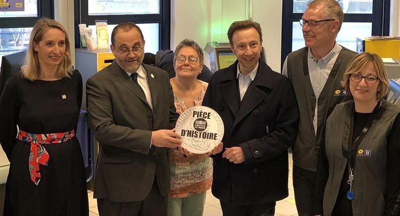 Pièces d'Histoire - Mission Stéphane Bern - piece la poste 2019 monnaie de paris la poste 2019 pieces la poste 2019