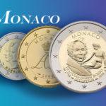 Tirages et valeurs des pièces euros de la Principauté de Monaco - Pièces de circulation et commémoratives