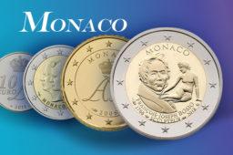 Tirages et valeurs des pièces euros de la Principauté de Monaco – Pièces de circulation et commémoratives