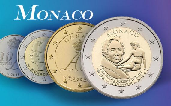 Valeurs et tirages des pièces euros de la Principauté de Monaco – Pièces de circulation et commémoratives