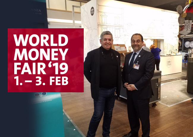 Exclusive numismatic report on 2019 World Money Fair in BERLIN