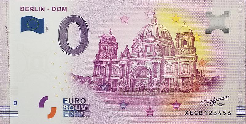 Billet zero euro Berliner Dom