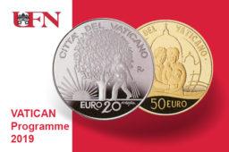 Programme numismatique 2019 du VATICAN
