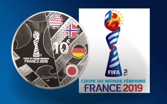 Coins FIFA Women's world cup France 2019 – Monnaie de Paris