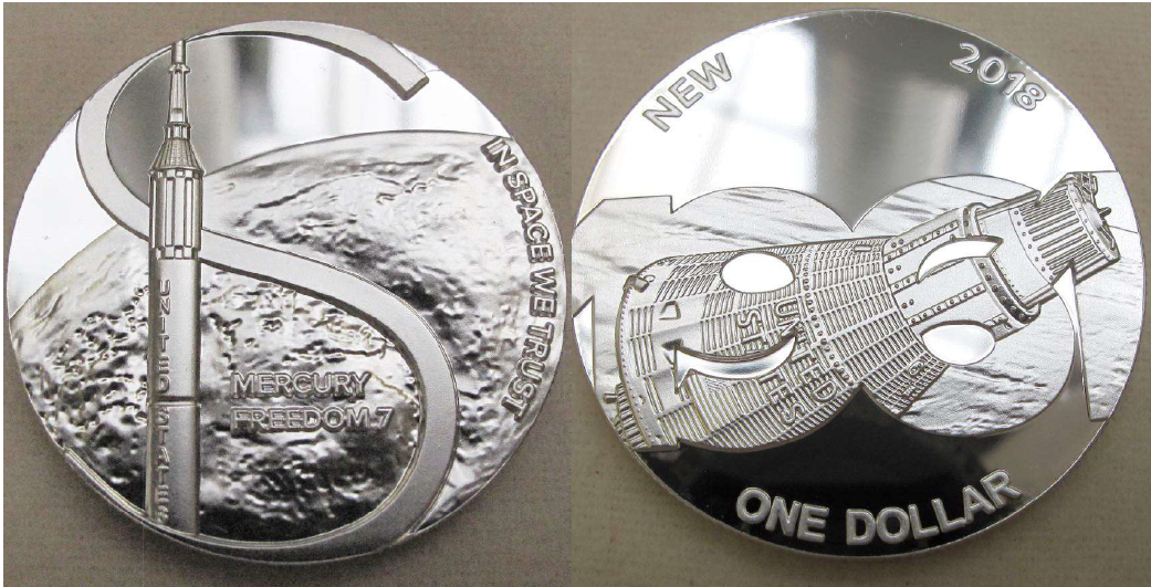 Decron coins, space coins soon for sale on Earth!