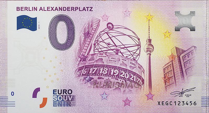 Billet zero euro Berlin AlexanderPlatz