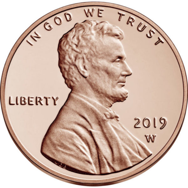 Top rarity: 2019 West Point Lincoln cent coin (W)