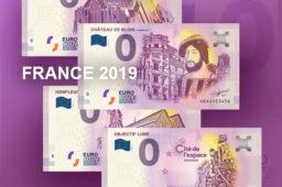 Billets zero euro 2019 France – 0 euro Souvenir