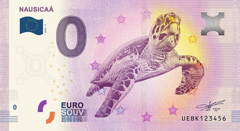 Billets zero euro 2019 France - 0 euro Souvenir