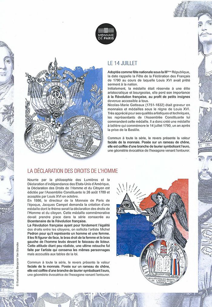 Patrimoine - Stéphane Bern- Pièces Bern - pièces d'histoire - piece la poste 2019- monnaie de paris la poste 2019- pieces la poste 2019