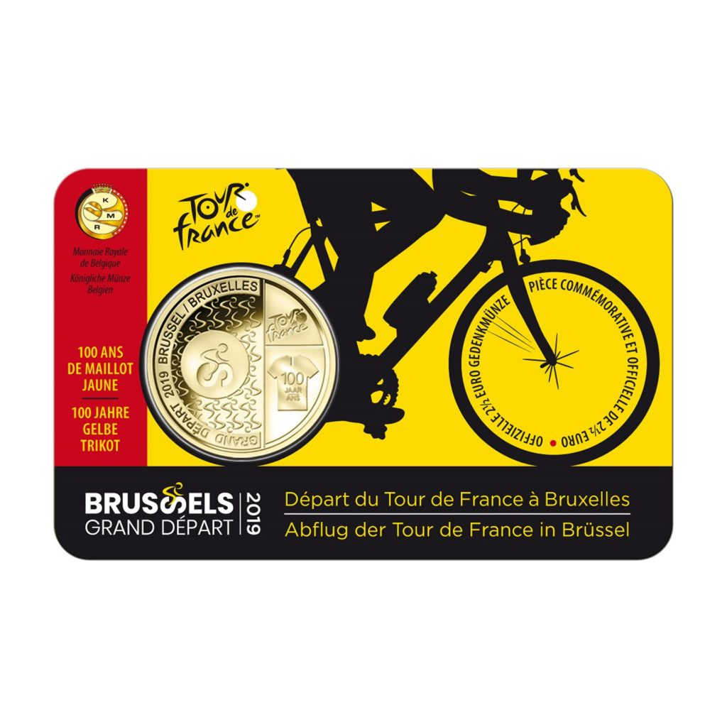 Belgian Royal Mint celebrates 2019 Tour de France with a coin