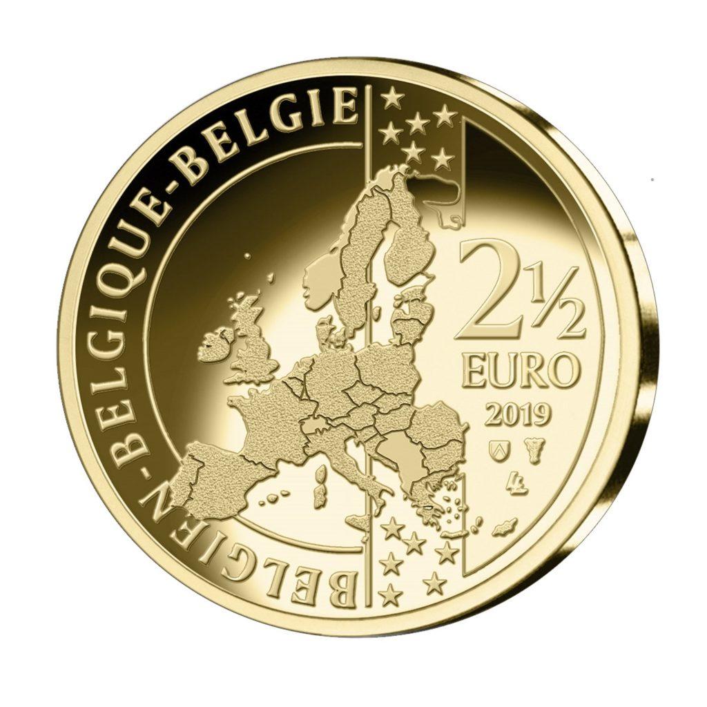 Belgian Royal Mint celebrates 2019 Tour de France with a coin