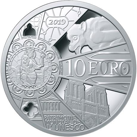 La Monnaie de Paris va rééditer une médaille au profit de Notre-Dame de Paris Médaille Notre-Dame de Paris - Monnaie de Paris 2019
